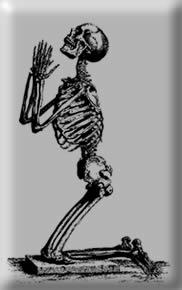 Prayingskeleton