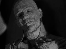 Boris Karloff in The Mummy