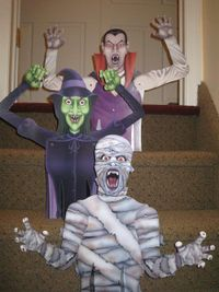 Halloween table toppers