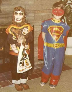 BigFoot and superman