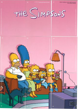 simpsons treehouse of horror cards