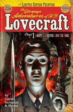 strange adventures of h.p. lovecraft trade paperback