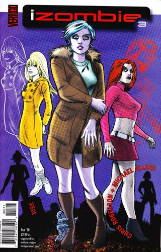 I Zombie comic vertigo