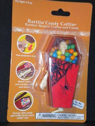 Halloween Rattlin' Shakin' Candy Coffin