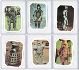 Dr Who trading card set
