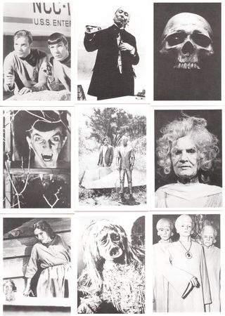 60's sci-fi and terror tv cards