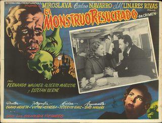 El Monstruo Resucitado Mexican Lobby Card