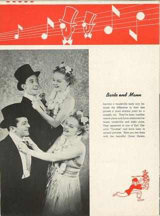 hellzapoppin theater program