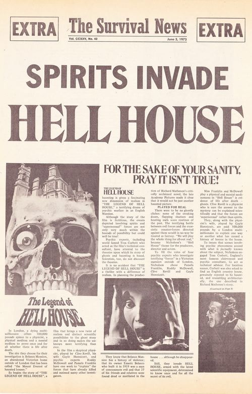 legend of hell house movie herald
