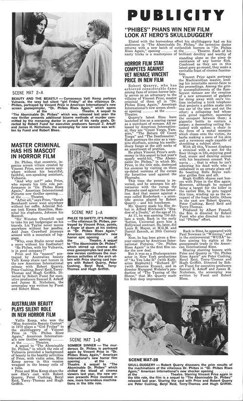 dr phibes rises again pressbook