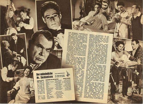 Mr. Sardonicus pressbook