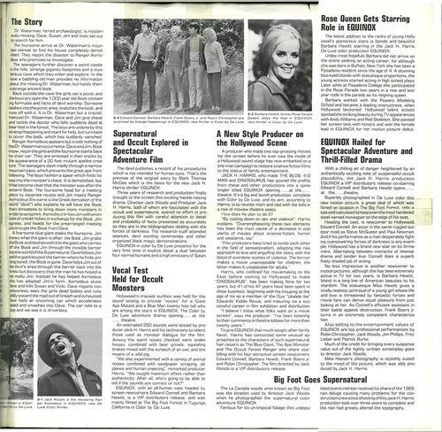 Equinox pressbook