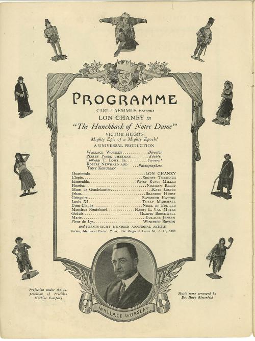 hunchback of notre dame souvenir program