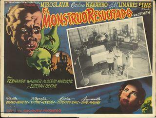El Monstruo Resucitado >Mexican Lobby Card