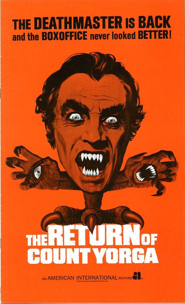 Return of Count Yorga Pressbook (From Zombos' Closet)