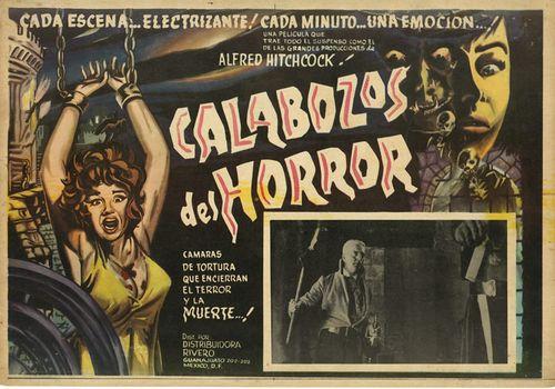 Calabozos Del Horror Mexican Lobby Card