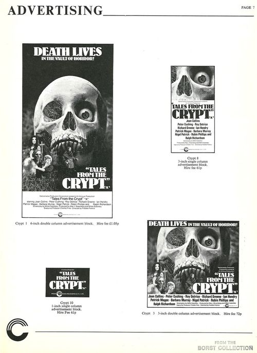 tales from the crypt pressbook