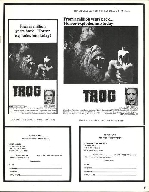trog pressbook