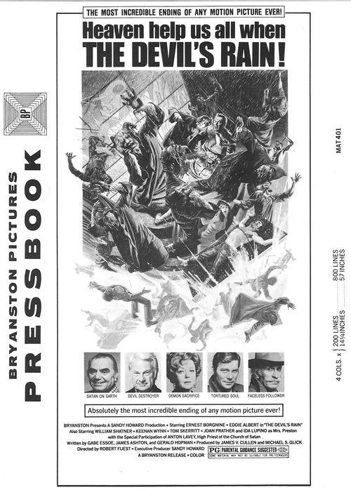 the devil's rain pressbook