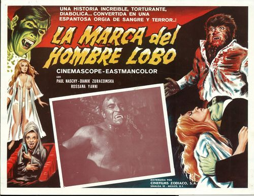 frankensteins bloody terror mexican lobby card