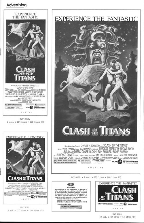 clash of the titans pressbook