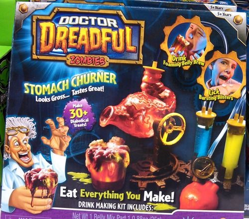 doctor dreadful stomach churner