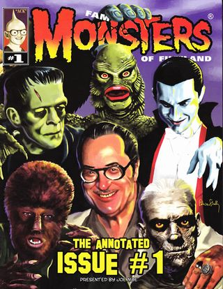 famous monsters annotated issue 1