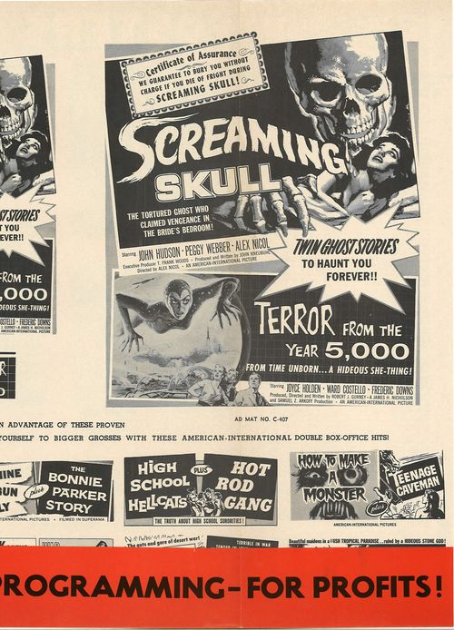 terror from the year 5000 pressbook