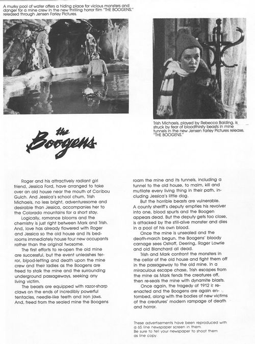 the boogens pressbook