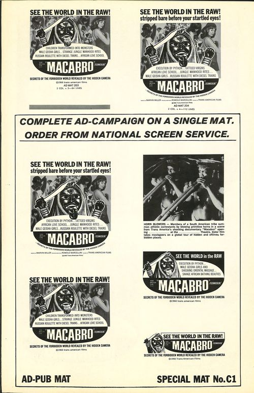 macabro pressbook