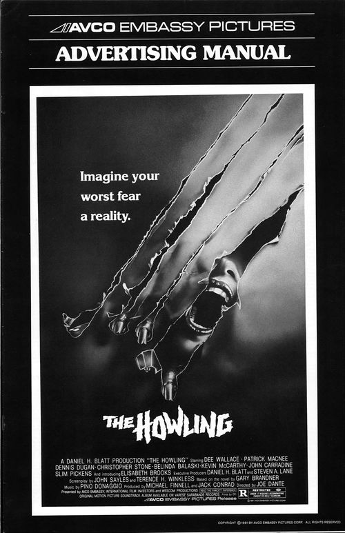 the howling pressbook