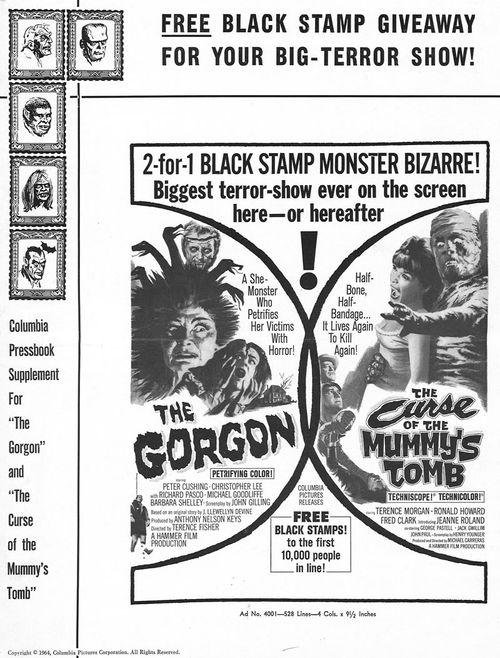 the gorgon pressbook