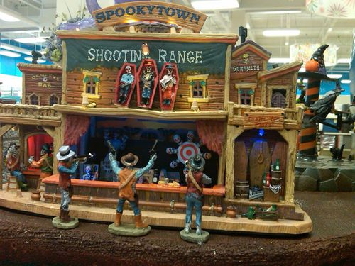 lemax spooky town shooting gallery