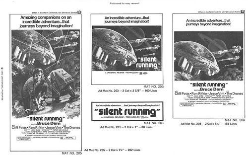 silent running pressbook