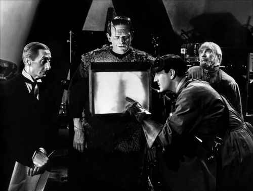 BORIS KARLOFF son of frankenstein
