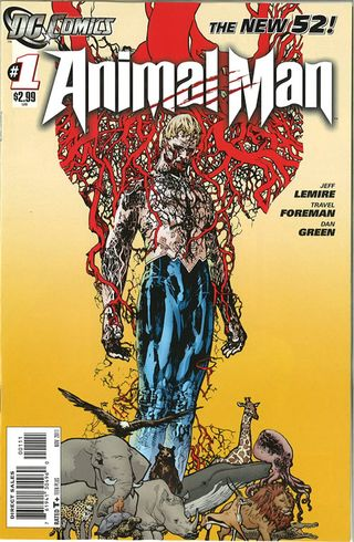 animal man 1 comic book