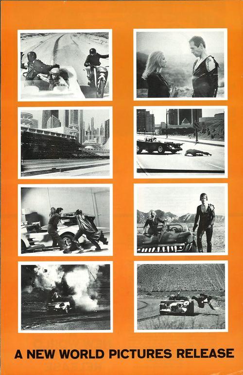 death race 2000 pressbook
