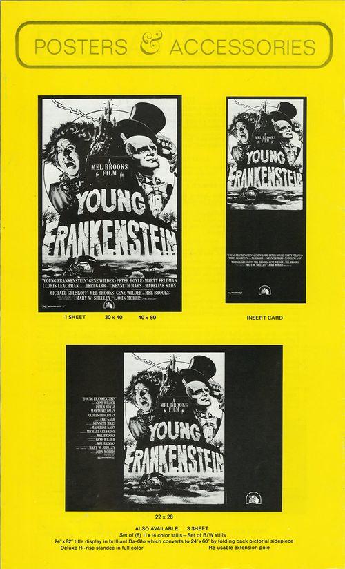 young frankenstein pressbook