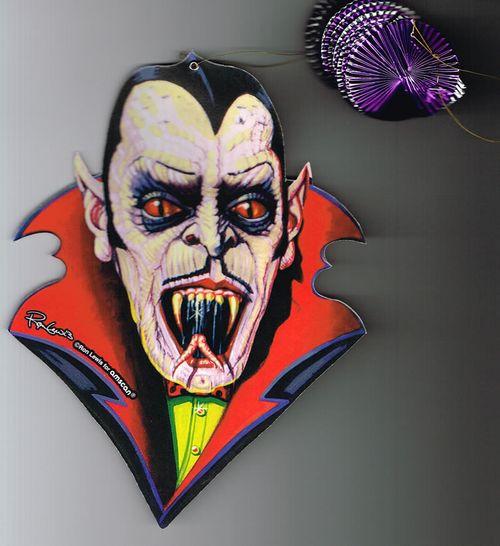 amscam dracula halloween cutout