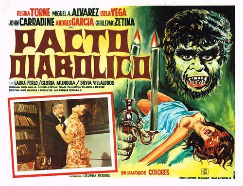 Pacto Diabolico Mexican Lobby Card