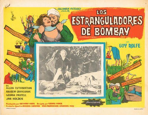 Los Estranguladores De Bombay Mexican Lobby Card
