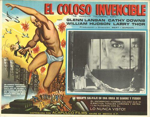 el coloso mexican lobby card