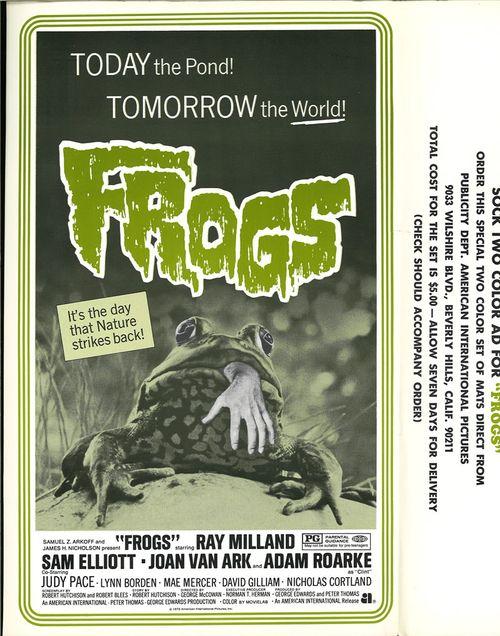 frogs pressbook