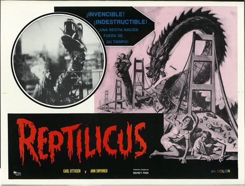 reptilicus lobby card