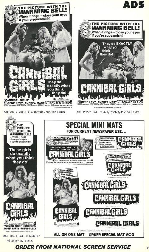 cannibal girls pressbook