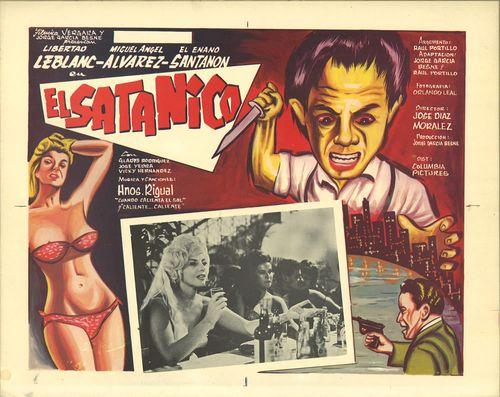 El Satanico Mexican Lobby Card