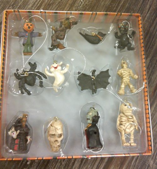 halloween ornaments 2011