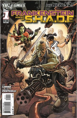 frankenstein DC comic