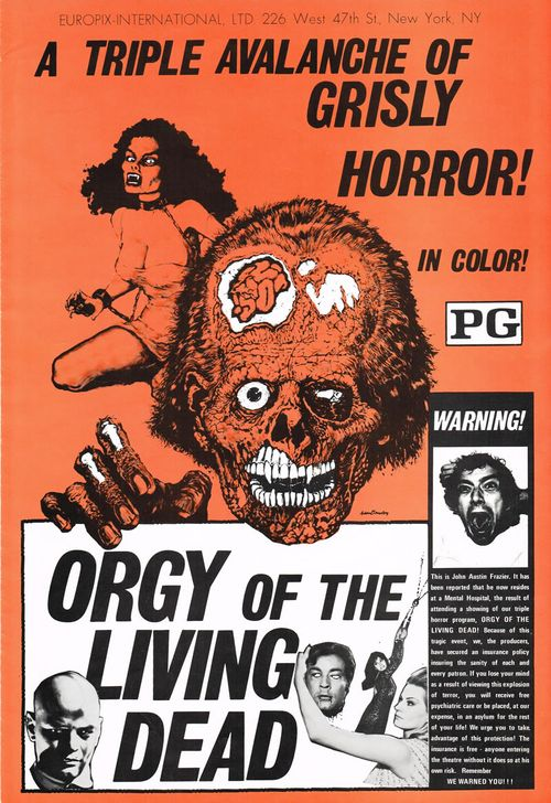 orgy of the living dead pressbook
