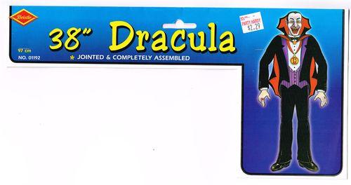 beistle jointed dracula halloween